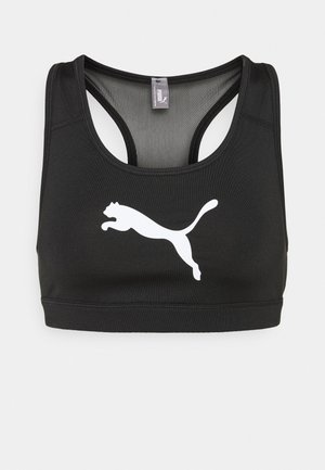 MID IMPACT - Medium support sports bra - black