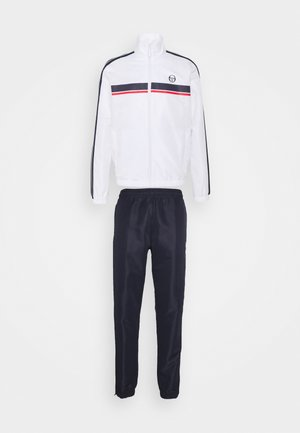 AGAVE SET - Tracksuit - white/navy
