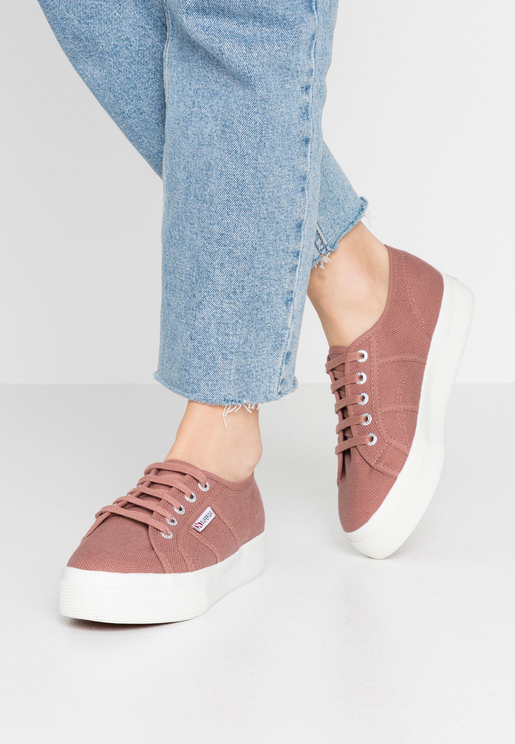 Gutes Angebot Superga COTU - Sneaker low - rose burlwood | Damenbekleidung 2020