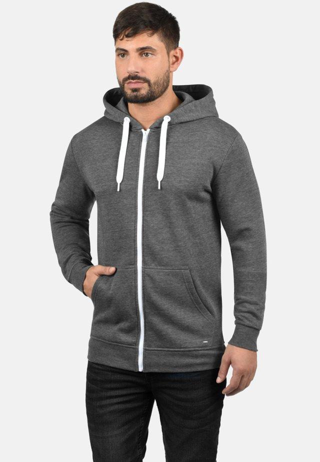 OLLI - Zip-up hoodie - grey melange