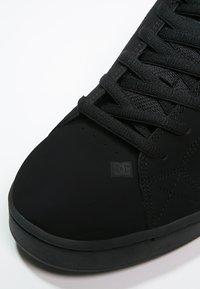 DC Shoes - NET - Obuwie deskorolkowe - black - 5