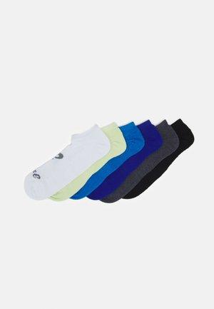INVISIBLE SOCK 6 PACK UNISEX - Sportsokken - multicoloured