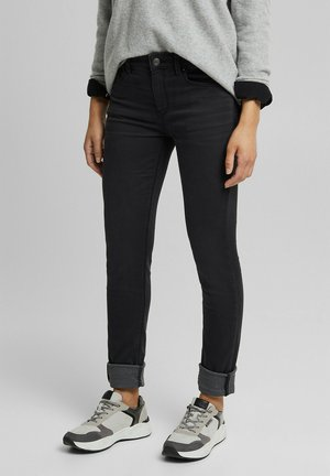 Slim fit jeans - black dark washed