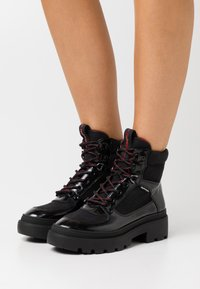 Refresh - Platform ankle boots - black - 0