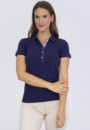 SHORT SLEEVE - Polo shirt - navy