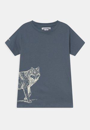 TEE - T-shirt print - china blue