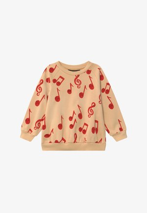 BABY NOTES AOP SWEATSHIRT - Sweatshirt - beige