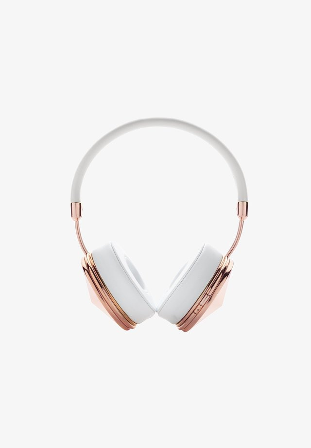 TAYLOR  - Headphones - bundle, rose gold, taylor, wired