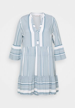 CARMARRAKESH TUNIC DRESS - Day dress - faded denim