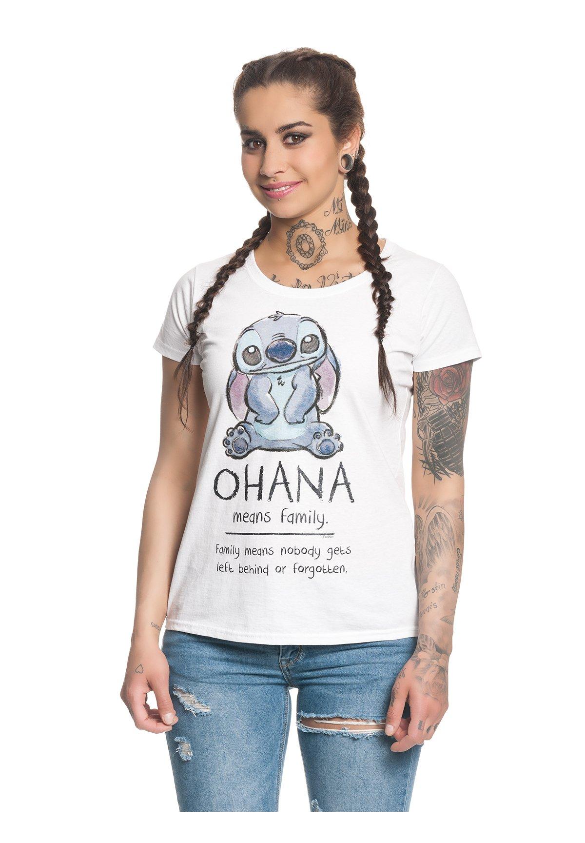 Damen OHANA LILO & STITCH - T-Shirt print
