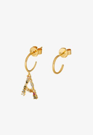 E EARRING - Oorbellen - gold-coloured
