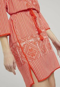 TOM TAILOR - Day dress - red white ethno design - 3