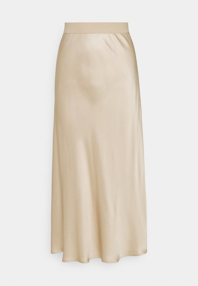 SKIRT - Gonna a campana - beige
