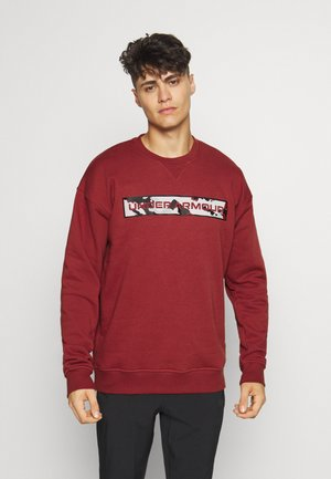 RIVAL CREW - Sweater - cinna red