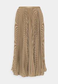Polo Ralph Lauren - RESE SKIRT - A-line skirt - brown/tan houndst - 4