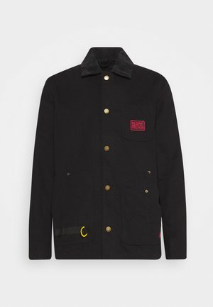 ICONIC WORKWEAR JACKET - Tunn jacka - black
