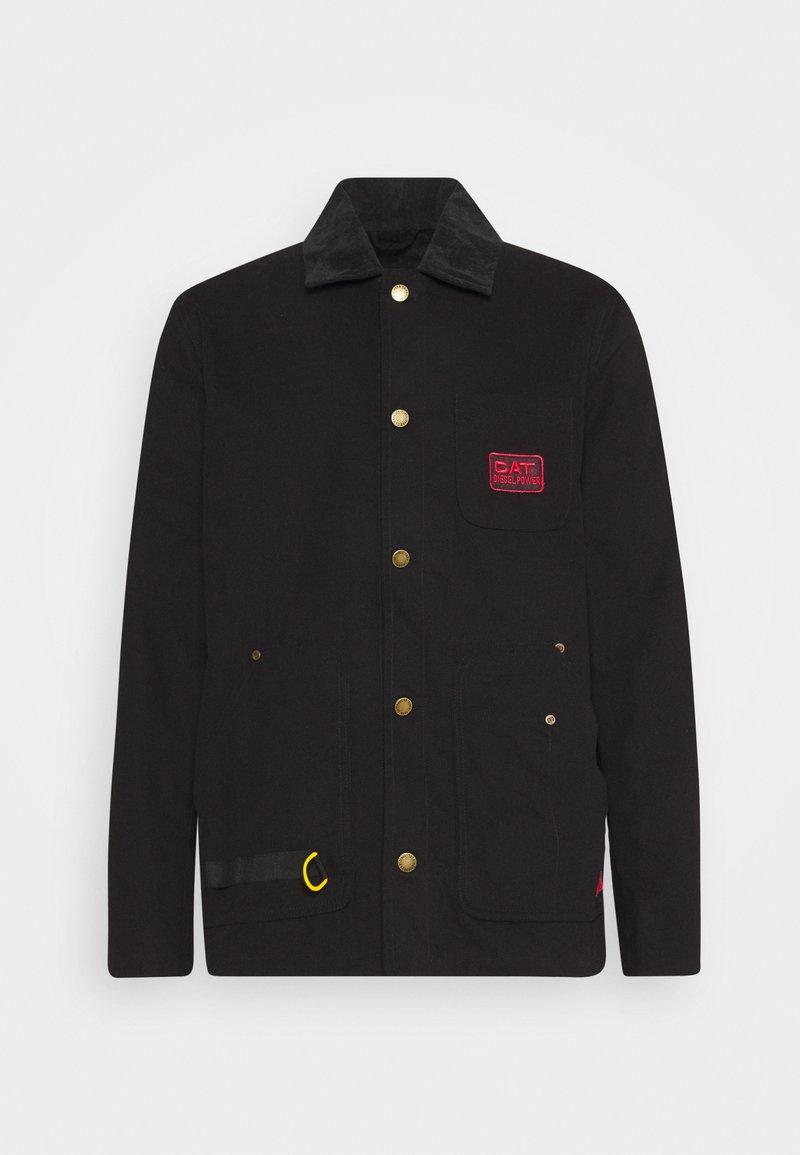 Caterpillar - ICONIC WORKWEAR JACKET - Summer jacket - black