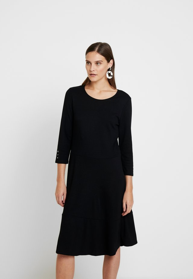 KLEID UNGEFÜTTERT - Trikoomekko - black