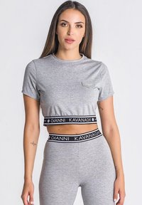 Gianni Kavanagh - T-shirt print - grey melange - 0