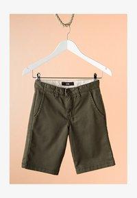 Vans - BY AUTHENTIC STRETCH SHORT BOYS - Shorts - grape leaf - 0