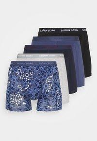Björn Borg - SAMMY DITSY FLOWER 5 PACK - Underkläder - crown blue - 6