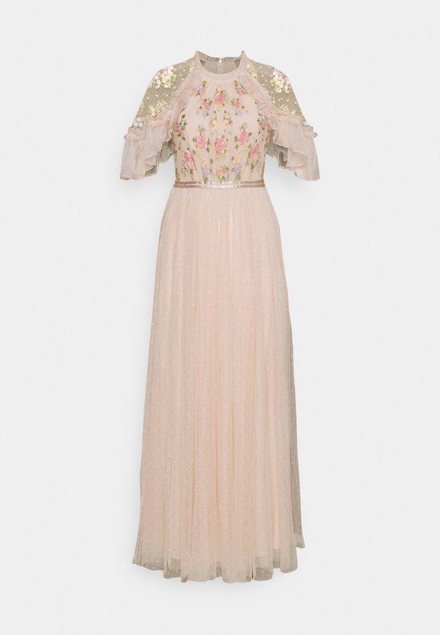 EMMA DITSY BODICE DRESS - Vestido de fiesta - strawberry icing