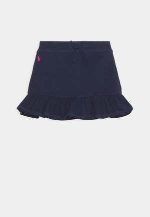 SCOOTER BOTTOMS SKIRT - Mini skirt - french navy/hint of pink
