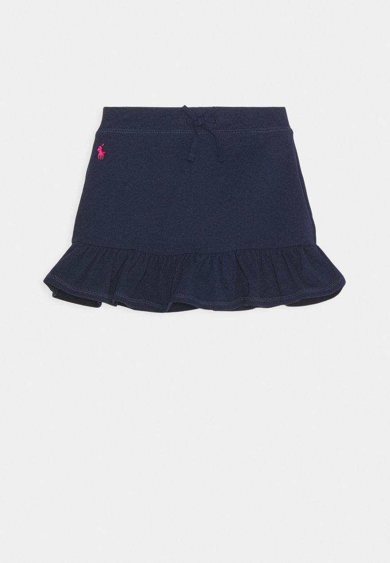 Polo Ralph Lauren - SCOOTER BOTTOMS SKIRT - Minisukně - french navy/hint of pink