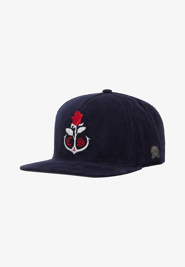 ROSE KEEPER - Cappellino - navy/mc