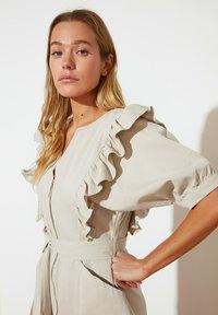 Trendyol - PARENT - Shift dress - beige - 2