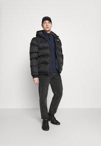 G-Star - ZIP THROUGH TRACK TWEETER - Training jacket - sartho blue - 1