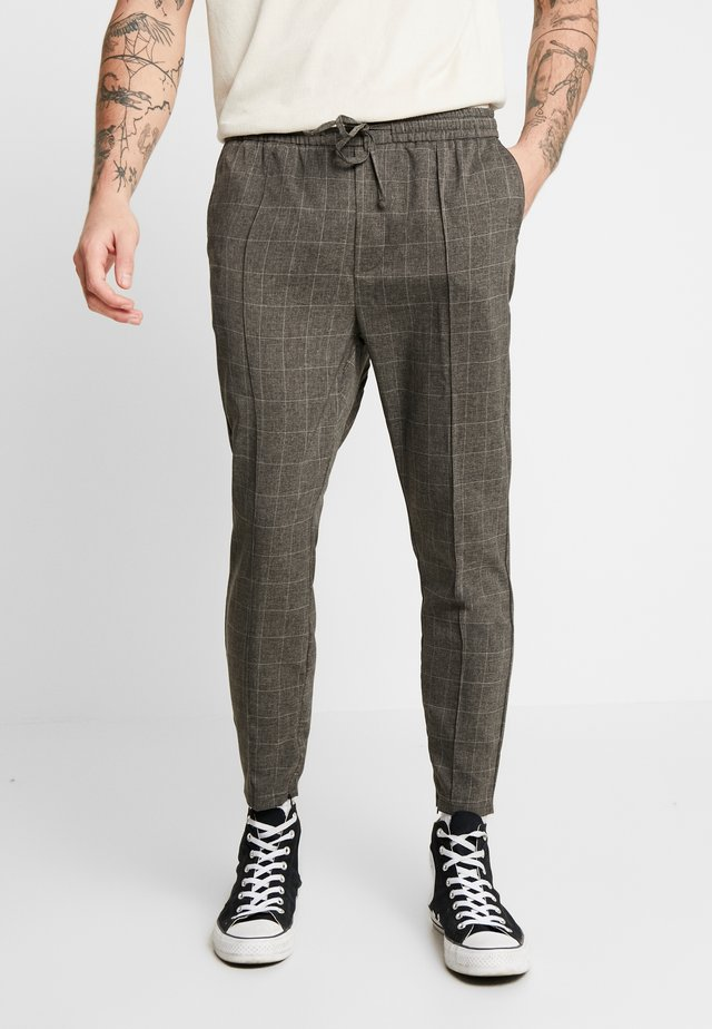 ALDO SMART JOGGERS - Trousers - charcoal