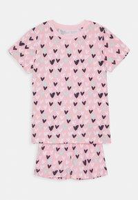 Blue Seven - KIDS NIGHTWEAR HEARTS - Pyjama set - rosa - 0