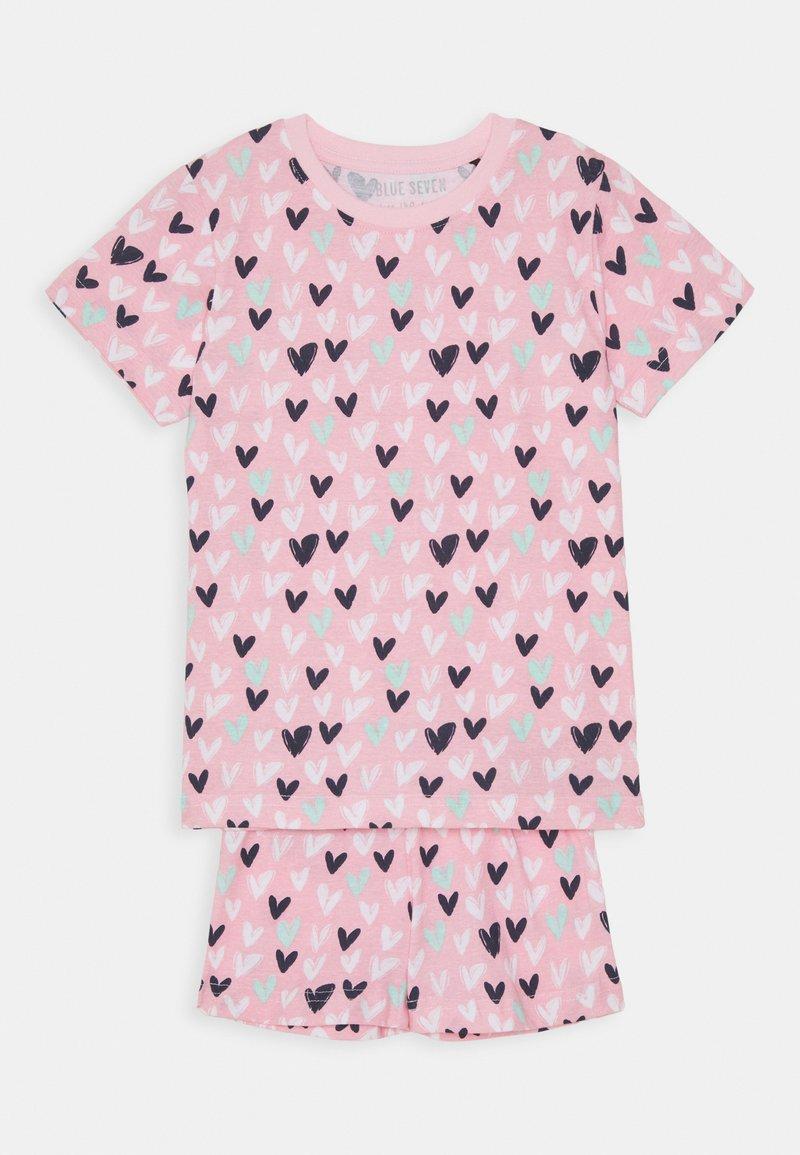 Blue Seven - KIDS NIGHTWEAR HEARTS - Pyjama set - rosa