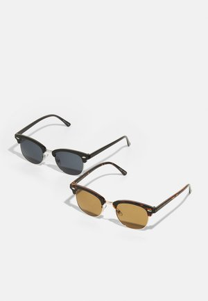 2 PACK - Occhiali da sole - brown/black