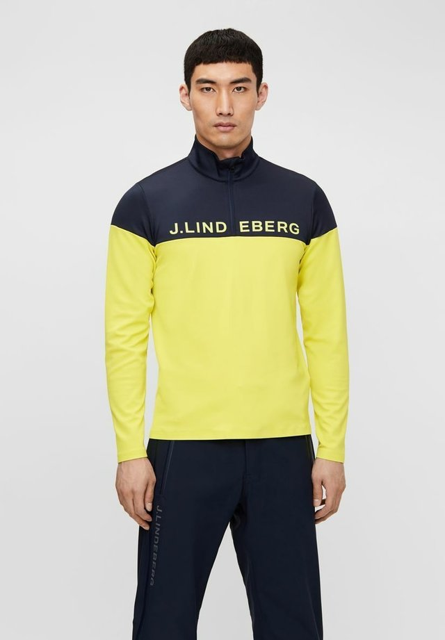 DAN MIDLAYER - Sweater - leaf yellow