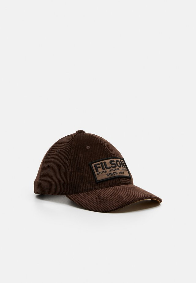 LOGGER CAP - Kšiltovka - dark brown