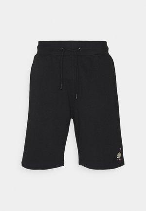 PIPED UNISEX - Shorts - black