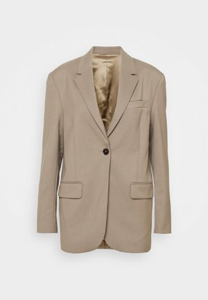 DORIS HOPSACK NEW FIT - Blazer - mole medium