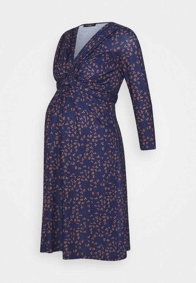 MADONNA DI CAMPIGLIO NURSING - Jersey dress - blue