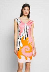 Just Cavalli - Pouzdrové šaty - pink variant - 0
