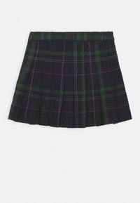 Polo Ralph Lauren - PLAID KILT BOTTOMS SKIRT - Pleated skirt - navy - 1