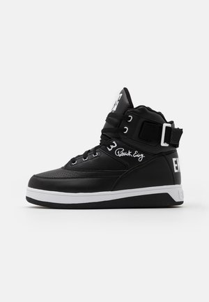 33 HI - High-top trainers - black/white