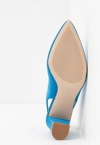 Dorothy Perkins - EMILY BLOCK HEEL SLINGBACK COURT - Escarpins - blue - 6