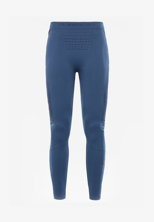 W SPORT TIGHTS - Legginsy - blue wing teal/tnf black