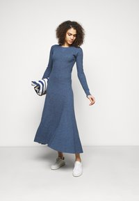 Polo Ralph Lauren - WAFFLE - Jumper dress - river blue heather - 1