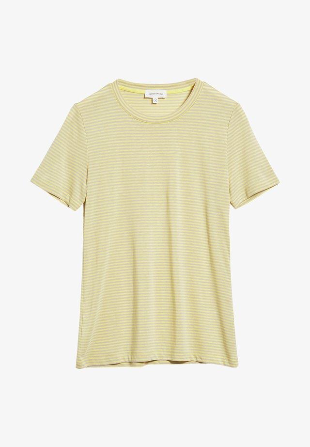 LIDAA  - T-Shirt print - lime-kitt