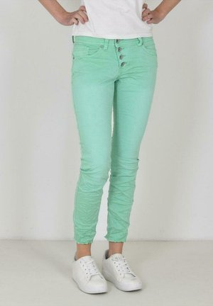 Slim fit jeans - neon green