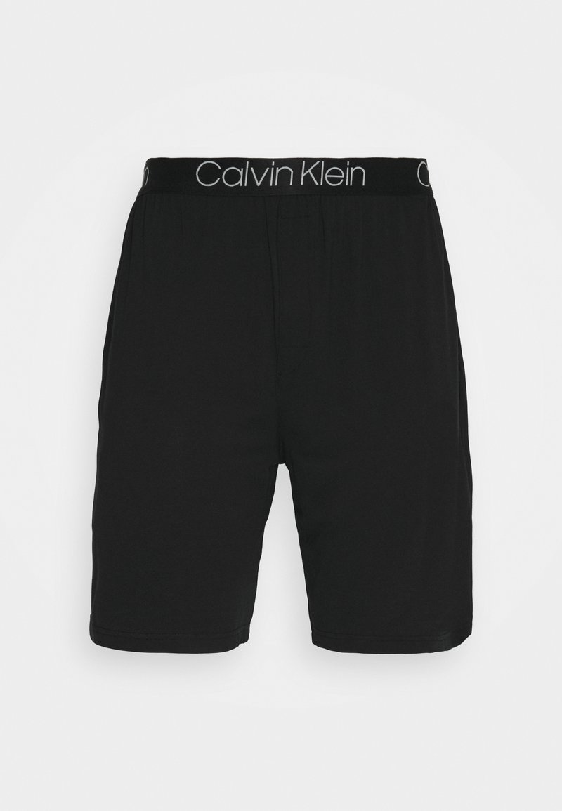 Calvin Klein Underwear - SLEEP SHORT - Pyjama bottoms - black
