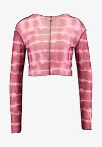 The Ragged Priest - RUNAWAY CROP - Maglietta a manica lunga - maroon/pink - 3